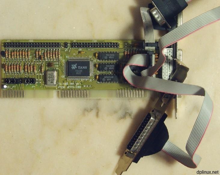tarjeta puerto serie paralelo