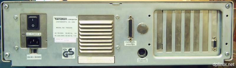 tandon 8088