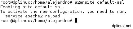 activando default-ssl