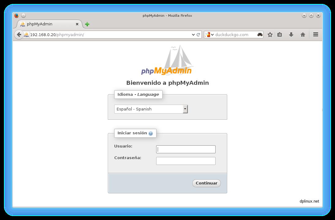 phpmyadmin 5