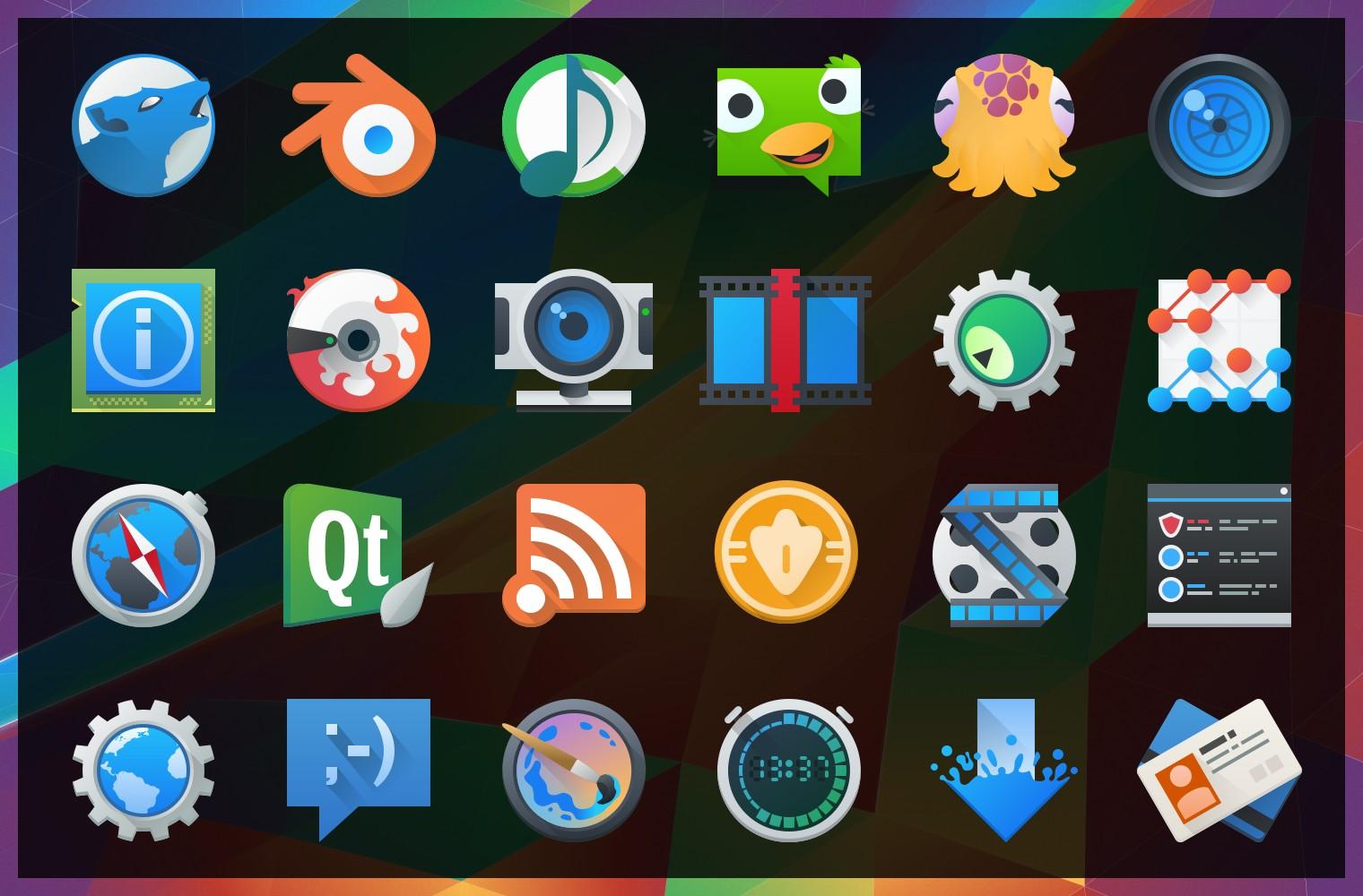 plasma 5.4 iconos