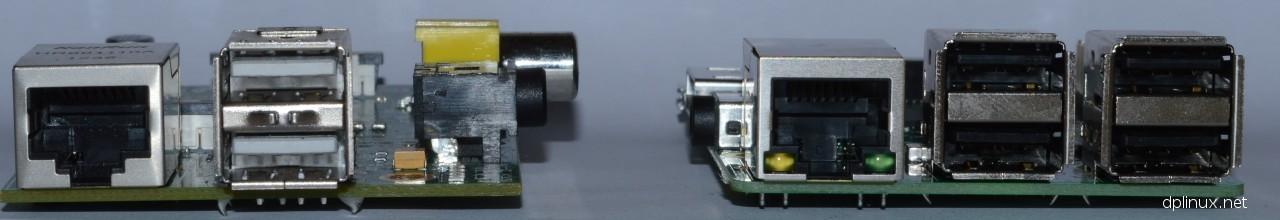 raspberry pi 1 vs 2 conectores