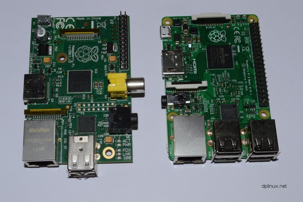 raspberry pi 1 vs 2