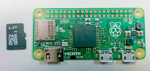 raspberry pi zero linux 4.9