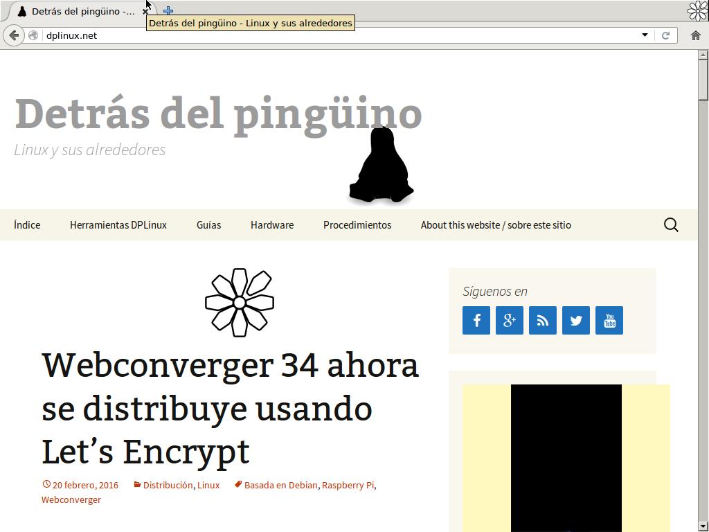 webconverger 34 dplinux