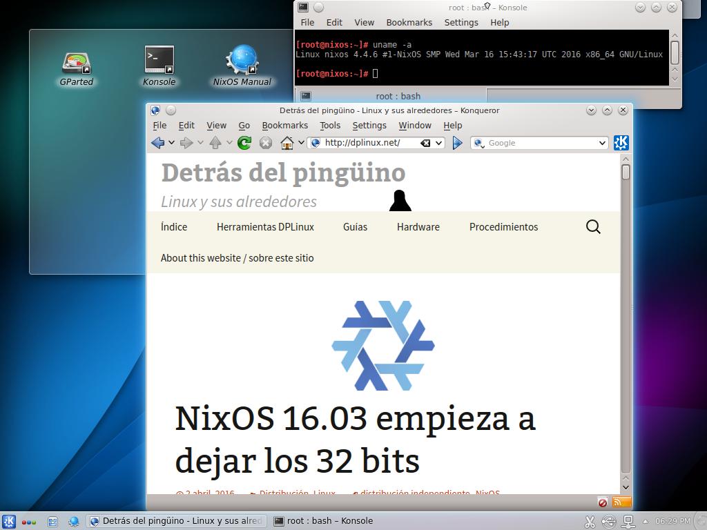 nixos 16.03