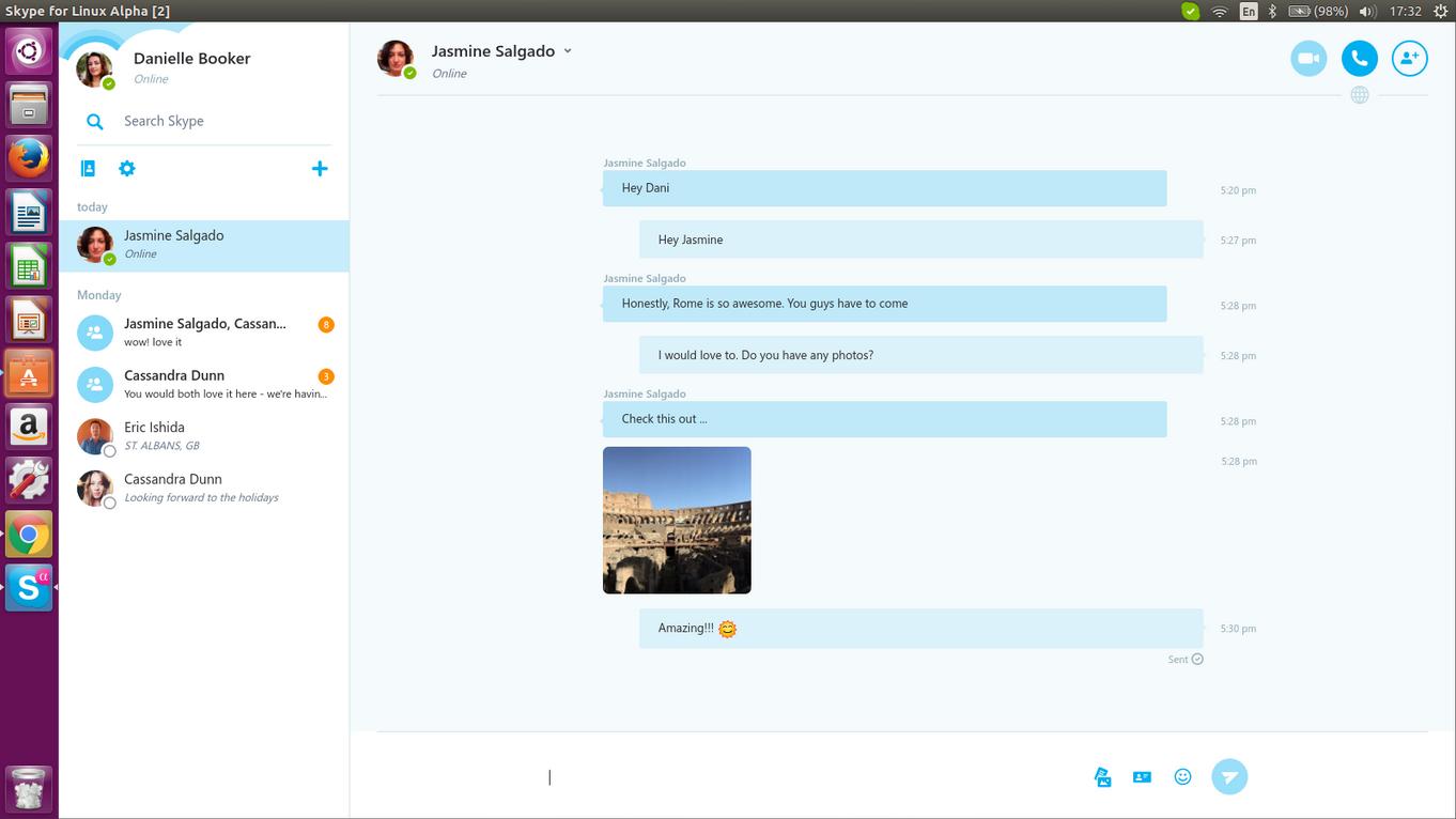 Nuevo cliente de Skype para Linux
